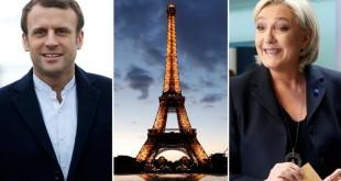 Macron Le Pen Eiffel copy