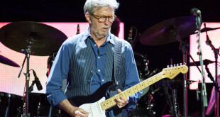 LONDON, ENGLAND - MAY 22:  (EXCLUSIVE COVERAGE) Eric Clapton performs at the Royal Albert Hall on May 22, 2017 in London, England.  (Photo by Matthew Baker/Getty Images)